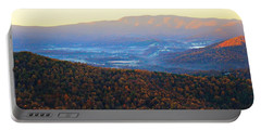 Autumn Mountains  Portable Battery Charger