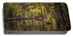 Autumn On Alvechurch Canal Portable Battery Charger