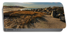 Autumn Rays Over Cape Cod Portable Battery Charger