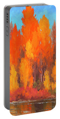 Autumn Repose Portable Battery Charger