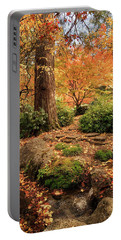 Autumn Stream In Lithia Park Portable Battery Charger