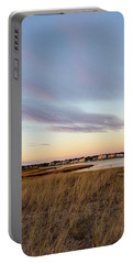 Autumn Sunset At West Dennis Beach Cape Cod Portable Battery Charger