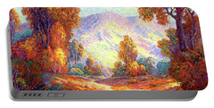 Autumn Sunshine Portable Battery Charger