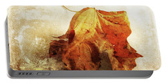 Portable Battery Charger featuring the photograph Autumn Texture by Randi Grace Nilsberg
