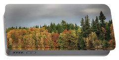 Autumn Tree Reflections Portable Battery Charger