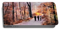 Autumn Walkers Portable Battery Charger