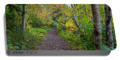 Autumn Woods Portable Battery Charger