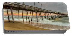 Avalon Pier - Kill Devil Hills Nc Portable Battery Charger