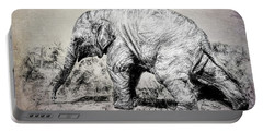 Baby Elephant Walk Portable Battery Charger