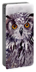 Baby Owl Portable Battery Charger