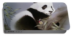 Baby Panda And Butterfly Portable Battery Charger