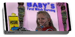 Baby's First Witch Hunt Portable Battery Charger