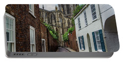 Back Alley To York Minster Portable Battery Charger
