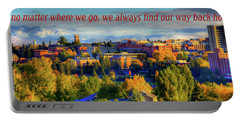 Portable Battery Charger featuring the photograph Back Home 3 by David Patterson