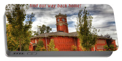 Portable Battery Charger featuring the photograph Back Home by David Patterson