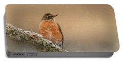 Backyard Visitor Portable Battery Charger
