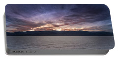 Badwater Basin Salt Flats Death Valley California Portable Battery Charger