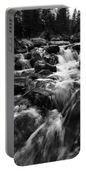Portable Battery Charger featuring the photograph Baerguntbach, Kleinwalserta by Andreas Levi