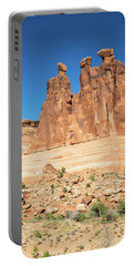 Balanced Rocks In Arches Portable Battery Charger