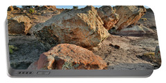 Balanced Rocks In Bentonite Site Portable Battery Charger