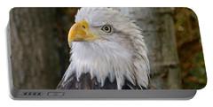 Bald Eagle Portrait Portable Battery Charger