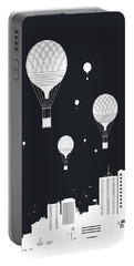 Balloons And The City Portable Battery Charger