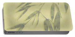 Bamboo Leaves 0580b Portable Battery Charger