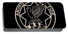 Band Of Brothers First Cavalry Regiment Animo Et Science Portable Battery Charger