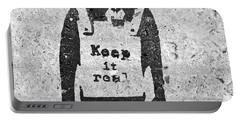 Banksy Chimp Keep It Real Portable Battery Charger