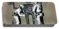 Banksy Coppers Pat Down Portable Battery Charger