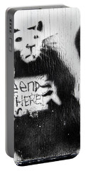Banksy Rat The End Is Here Portable Battery Charger