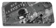 Banksy Rue La Lafayette Portable Battery Charger