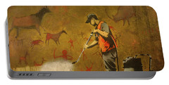 Banksy's Cave Painting Cleaner Portable Battery Charger