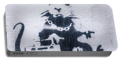 Banksy's Gansta Rat Portable Battery Charger
