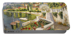 barche a Bellagio Portable Battery Charger