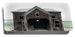 Barn 1886, Old Barn In Walton, Ny Portable Battery Charger