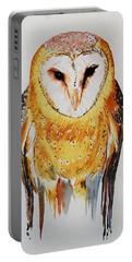 Barn Owl Drip Portable Battery Charger