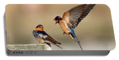 Barn Swallow Conversation Portable Battery Charger