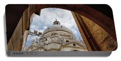 Basilica Di Santa Maria Della Salute Venice Italy Portable Battery Charger