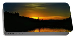 Bass Lake Sunrise Duck Portable Battery Charger