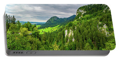 Bavarian Alps Panorama Portable Battery Charger