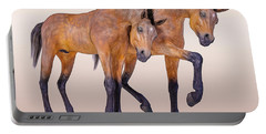 Bay Foal Pair Portable Battery Charger