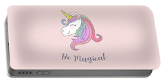 Be Magical - Baby Room Nursery Art Poster Print Portable Battery Charger