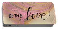 Be The Love Portable Battery Charger