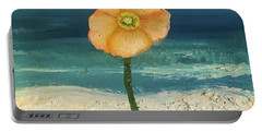 Beach Flora Portable Battery Charger