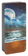 Beach Moon  Portable Battery Charger