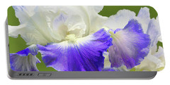 Bearded Iris Clarence Portable Battery Charger