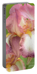 Bearded Iris-tiffany Portable Battery Charger