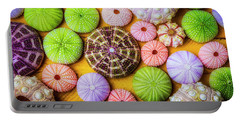 Beautiful Colorful Sea Urchins Portable Battery Charger