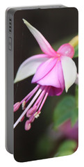 Beautiful Fuchsia Portable Battery Charger